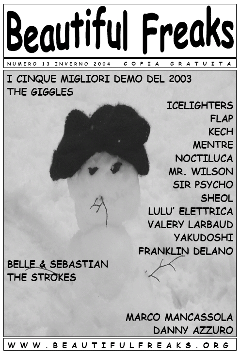 Beautiful Freaks 13 - inverno 2004