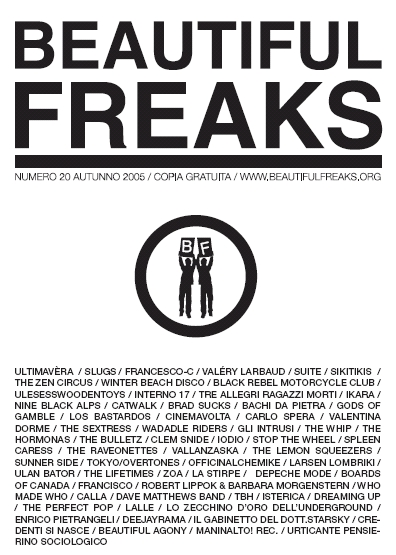 Beautiful Freaks 20 - autunno 2005