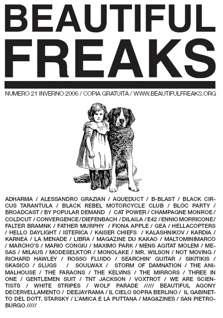 Beautiful Freaks 21 - inverno 2006