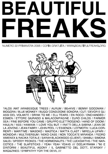 Beautiful Freaks 22 - primavera 2006