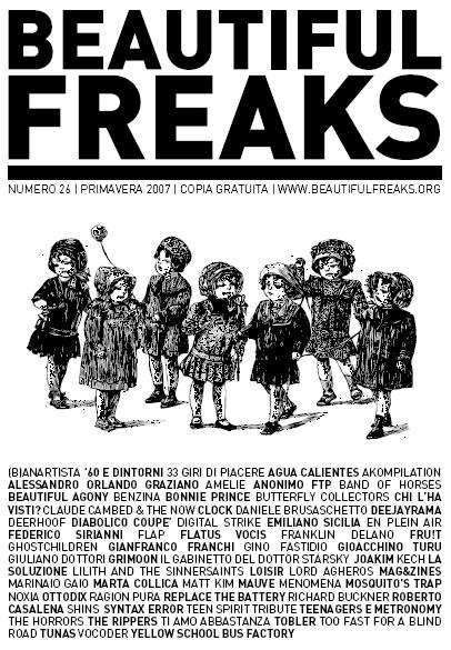 Beautiful freaks 26 - primavera 2007