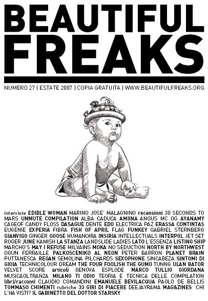 Beautiful Freaks 27 - estate 2007