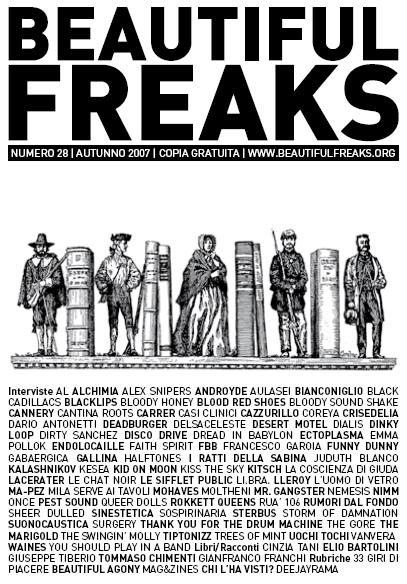 Beautiful Freaks 28 - autunno 2007