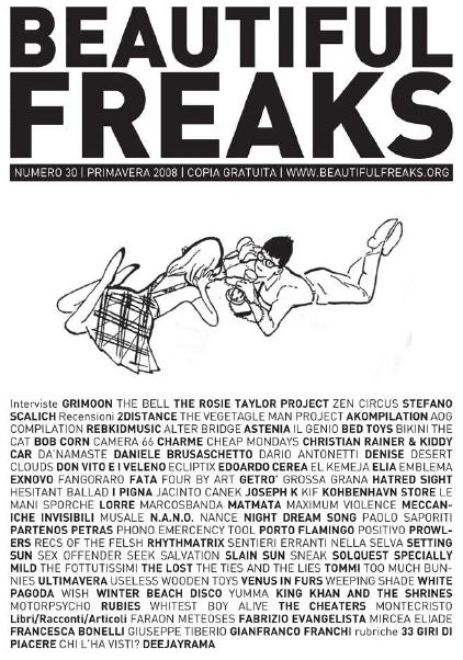 Beautiful Freaks 30 - primavera 2009