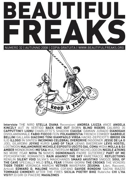 Beautiful Freaks 32 - autunno 2008