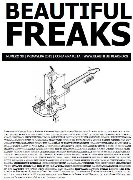 Beautiful Freaks 38 - primavera 2011