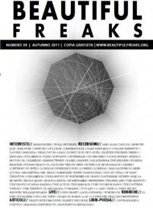 Beautiful Freaks 39 - autunno 2011