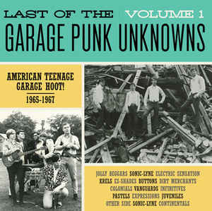 Back From The Grave e Last Of The Garage Punk1